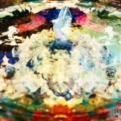 Paint Goddess (digital and painting hybrid)