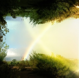 'As above, so below' Rainbow Country Northshore Maui