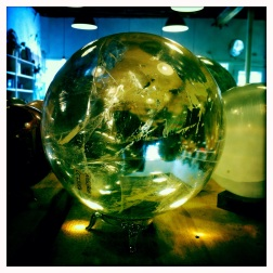 looking into a crystal ball...what do I see...