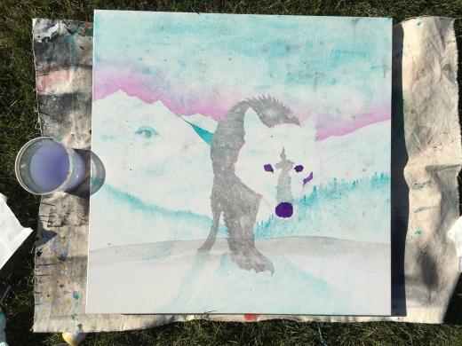 winter wolf WIP