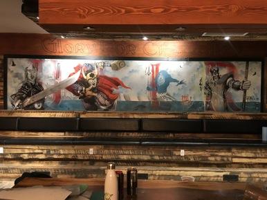 ULLR mural Invermere BC Canada