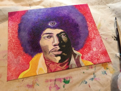 WIP 'purple haze'